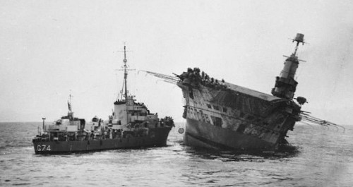 Ark Royal Sinking