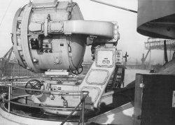 Bismarck searchlight