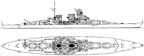 H Class Battleship H Battleship