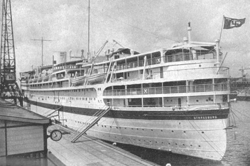 Hospital ship Strassburg