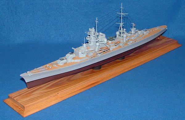 Kbismarck Com Models Heller 1 400 Prinz Eugen