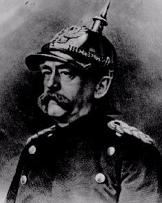 Otto Von Bismarck, The Chancellor of Germany from1871 to 1890