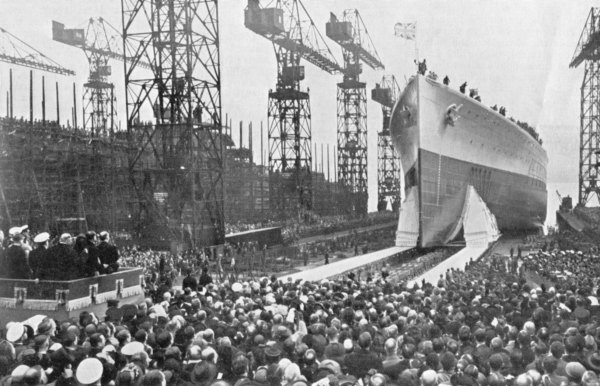 Launching of HMS Prince of Wales