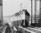The Launching of the Bismarck