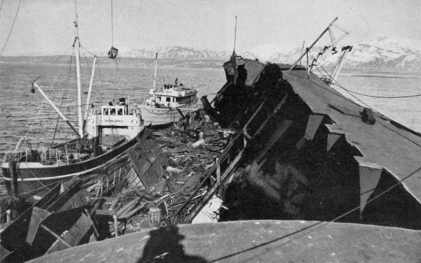 The Wreck of the Tirpitz