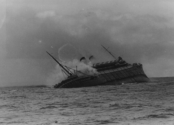 Sinking Ships Photos of ships sinking - naval history forums Sinking Ship Image