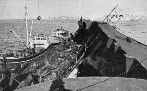 Tirpitz Wreck