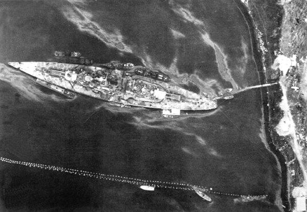 Image result for tirpitz aerial