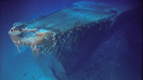 Bismarck wreck