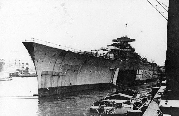 Cuirassé Bismarck au 1/200 - Trumpeter Bismarck501