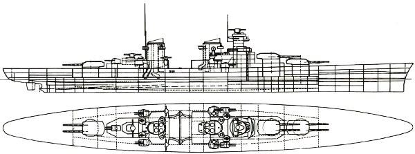Les projets de bateaux de l'axe(toutes marques et toutes échelles confondues). - Page 6 O-class-drawing