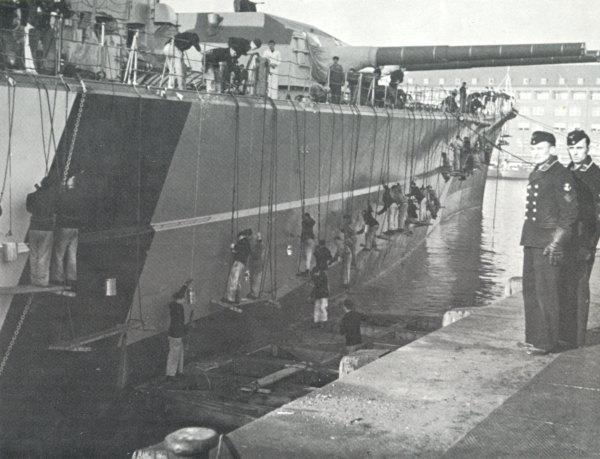 Bismarck Armour Protection